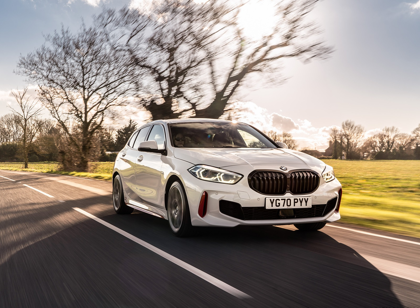 2021 BMW 128ti (UK-Spec) Front Three-Quarter Wallpapers  (5)