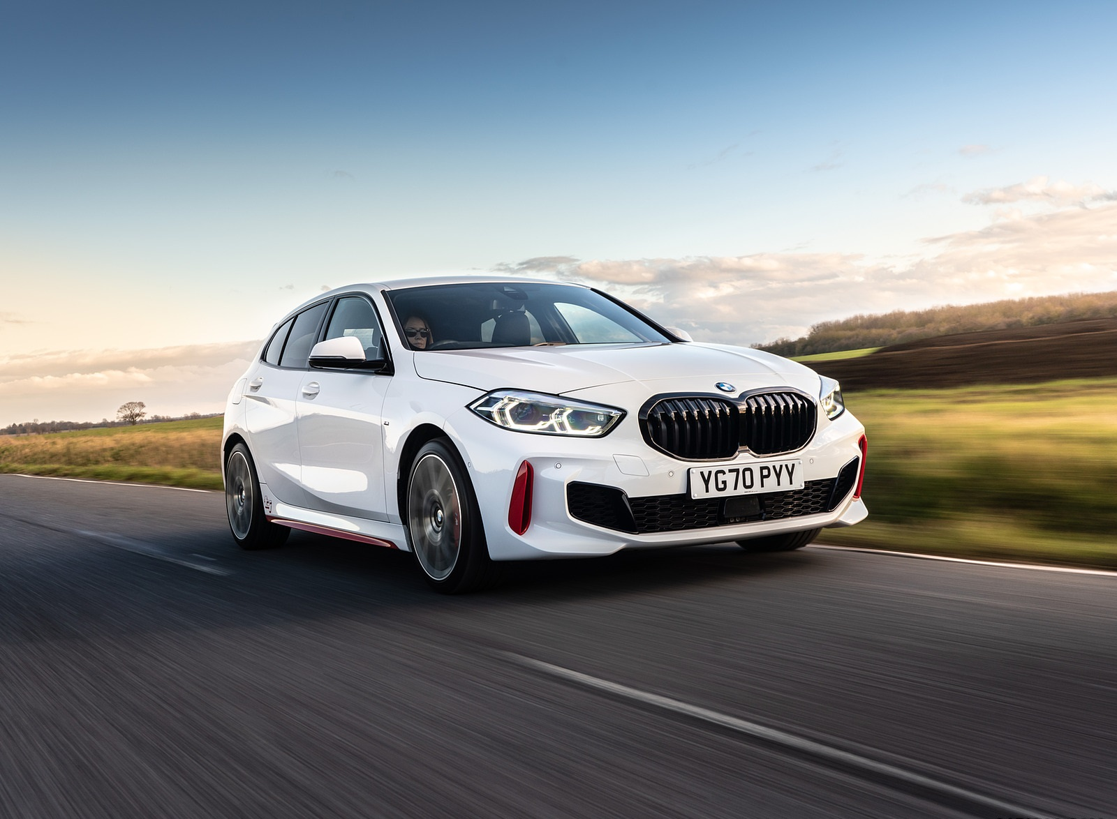 2021 BMW 128ti (UK-Spec) Front Three-Quarter Wallpapers  (1)