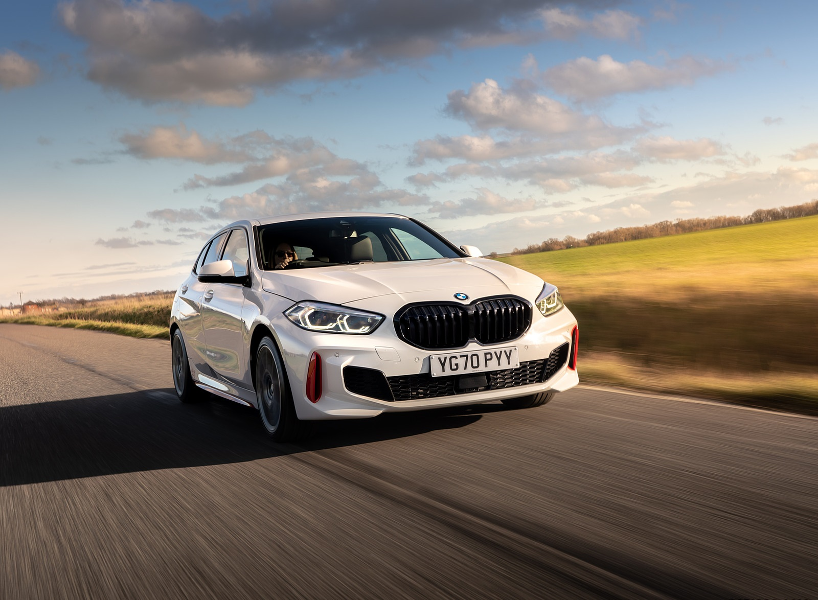 2021 BMW 128ti (UK-Spec) Front Three-Quarter Wallpapers (3)