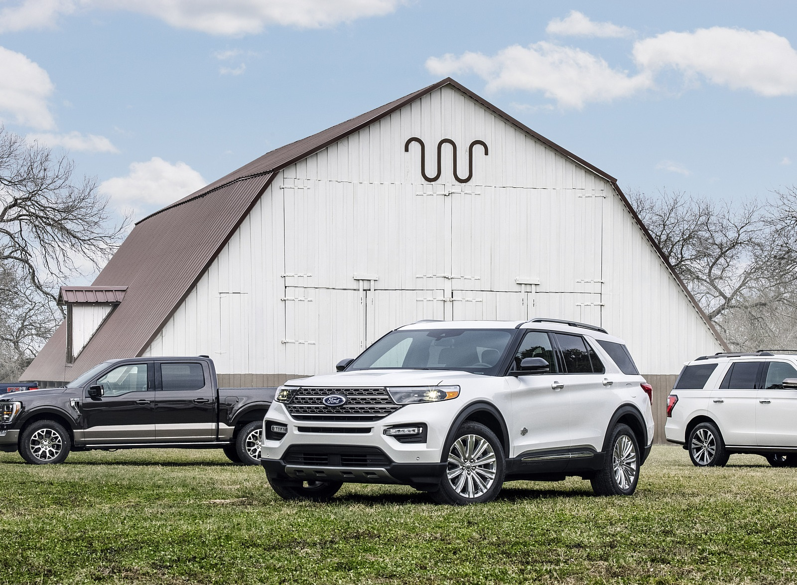 2021 Ford Explorer King Ranch Front Three-Quarter Wallpapers (8)