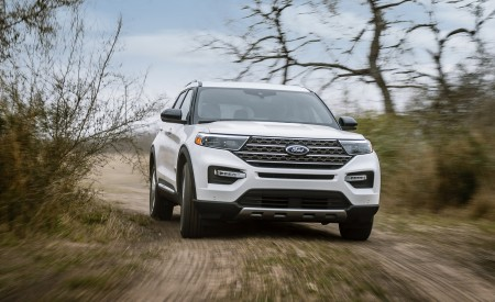 2021 Ford Explorer King Ranch Wallpapers HD