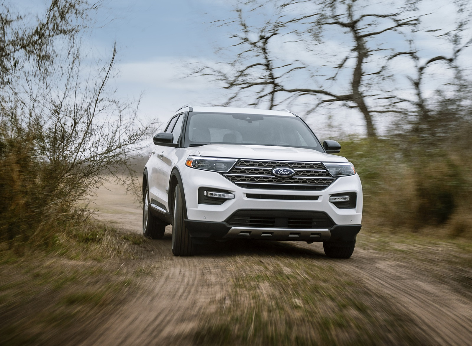2021 Ford Explorer King Ranch Front Wallpapers (1)