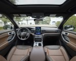 2021 Ford Explorer King Ranch Interior Cockpit Wallpapers 150x120 (14)