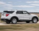 2021 Ford Explorer King Ranch Rear Three-Quarter Wallpapers 150x120 (4)