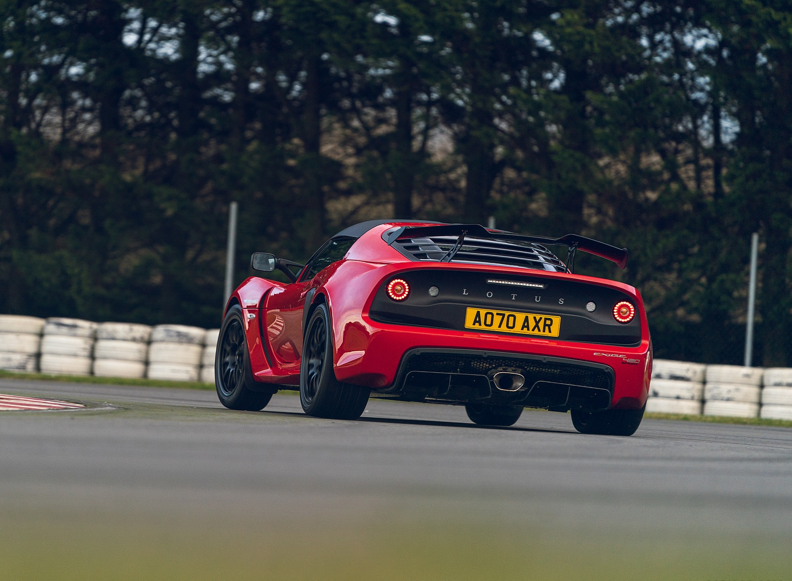 2021 Lotus Exige Sport 420 Final Edition Rear Wallpapers (9)