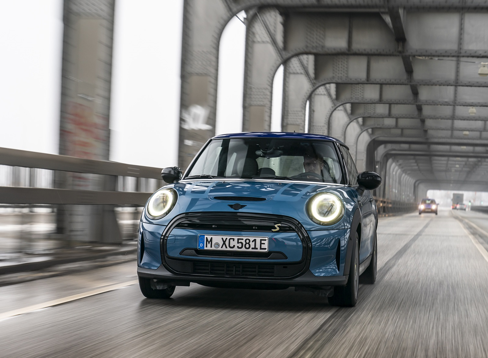 2021 MINI Cooper SE Electric Front Wallpapers  (2)