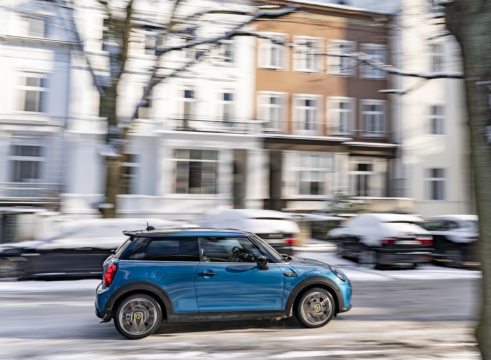 2021 MINI Cooper SE Electric Side Wallpapers  (7)