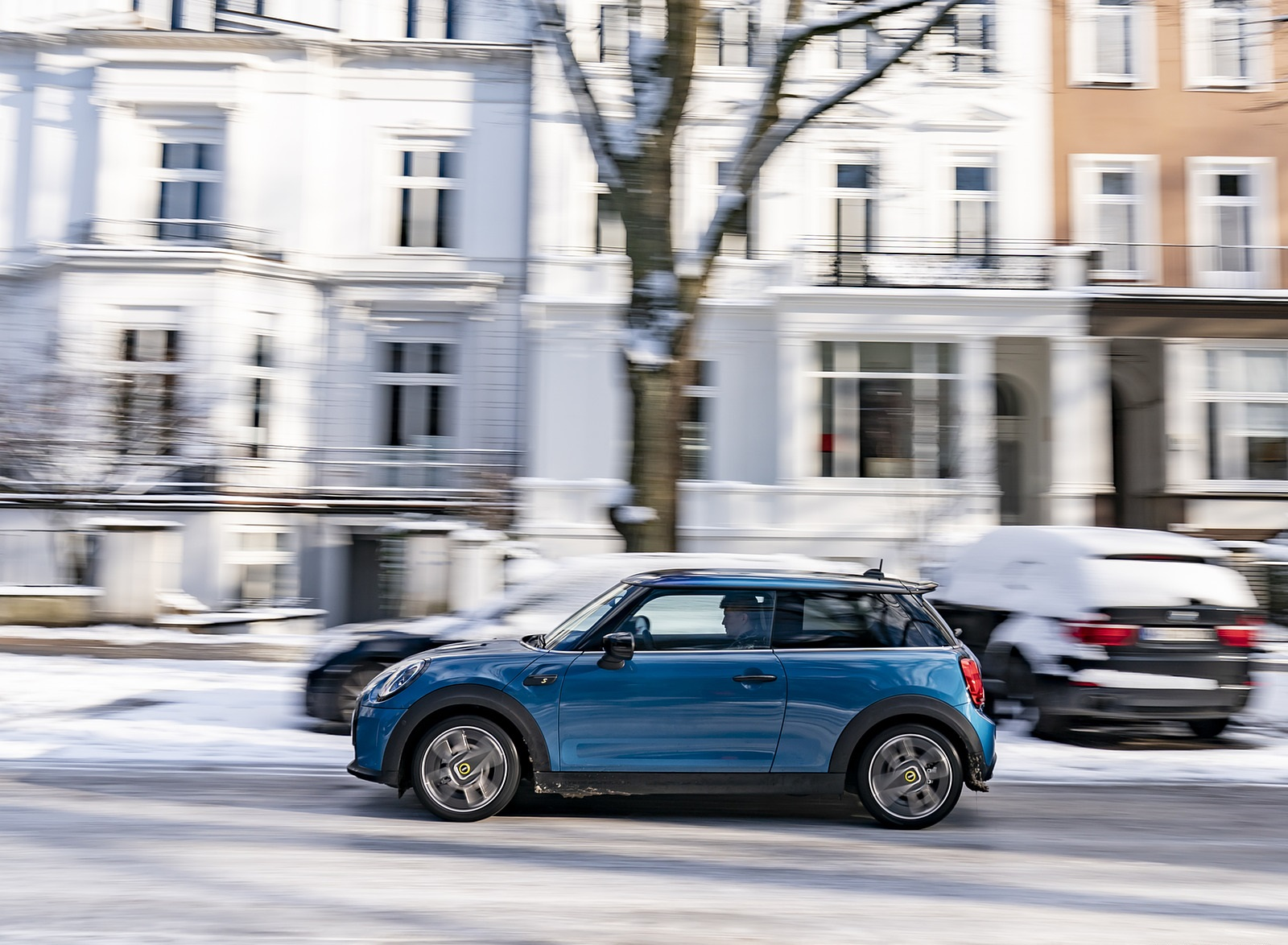 2021 MINI Cooper SE Electric Side Wallpapers (8)