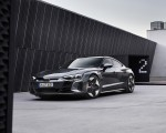 2022 Audi RS e-tron GT (Color: Daytona Grey) Front Three-Quarter Wallpapers 150x120 (28)