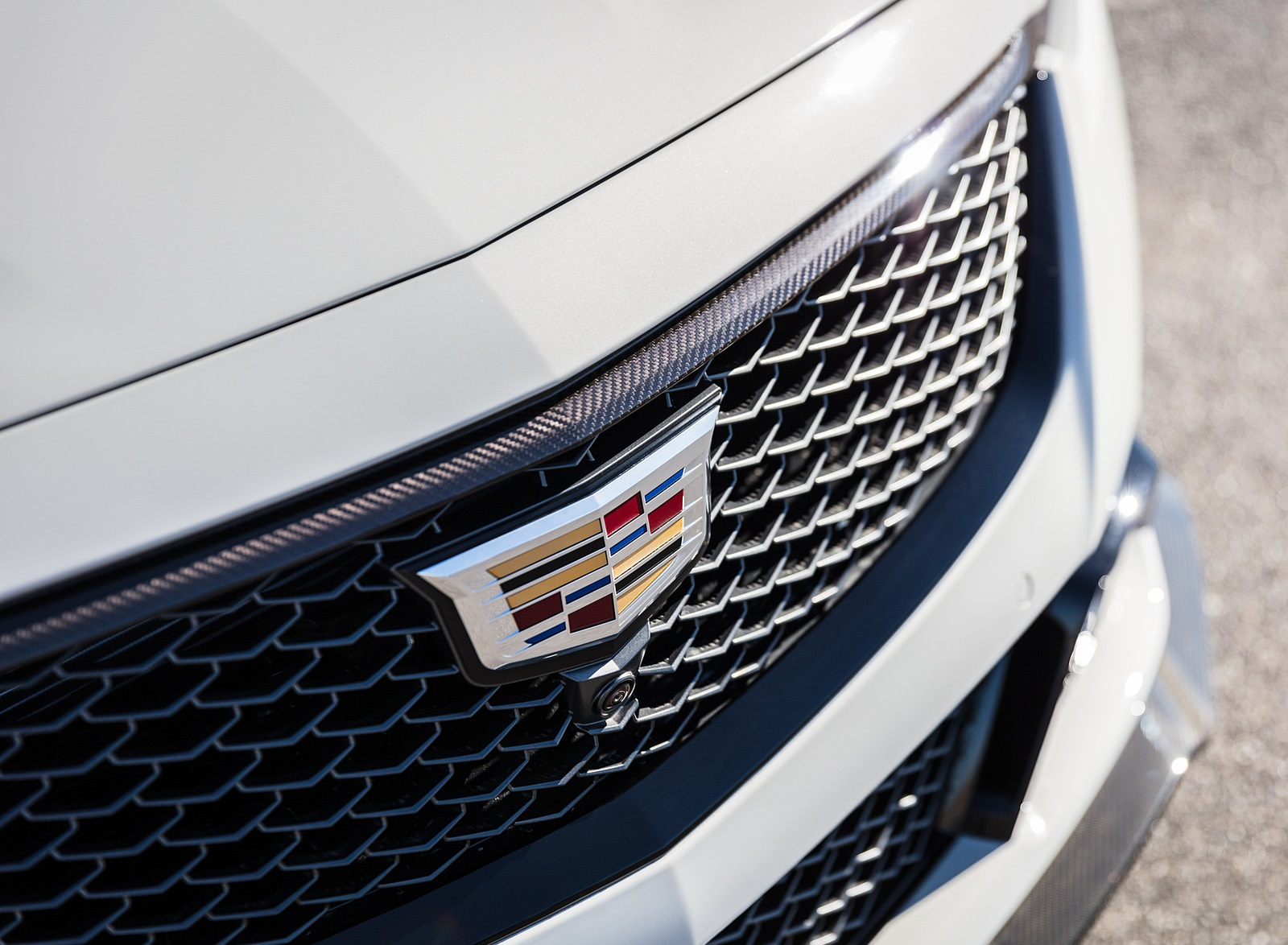 2022 Cadillac CT5-V Blackwing Grill Wallpapers (7)