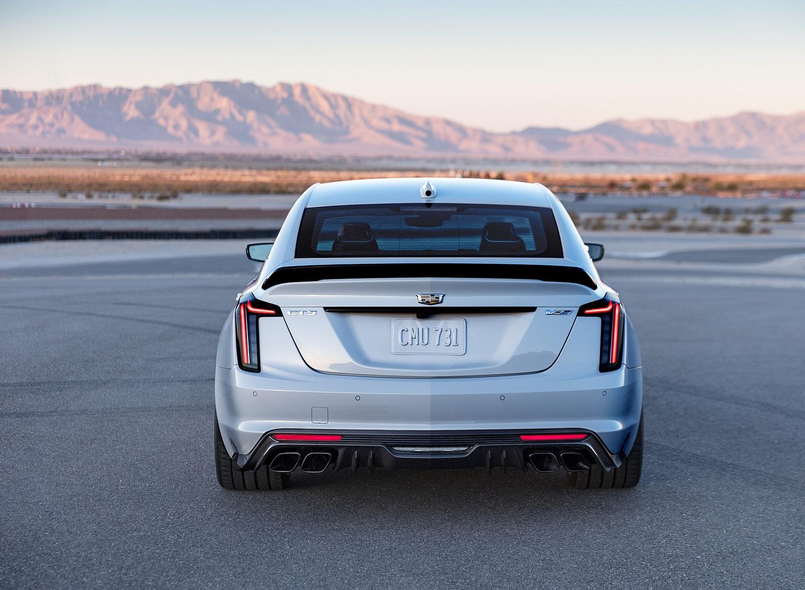 2022 Cadillac CT5-V Blackwing Rear Wallpapers (3)