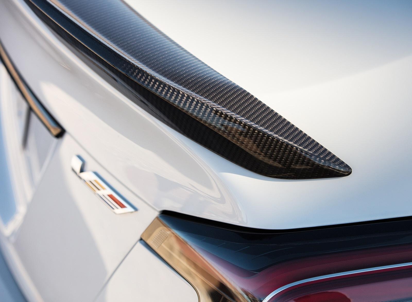 2022 Cadillac CT5-V Blackwing Spoiler Wallpapers (9)