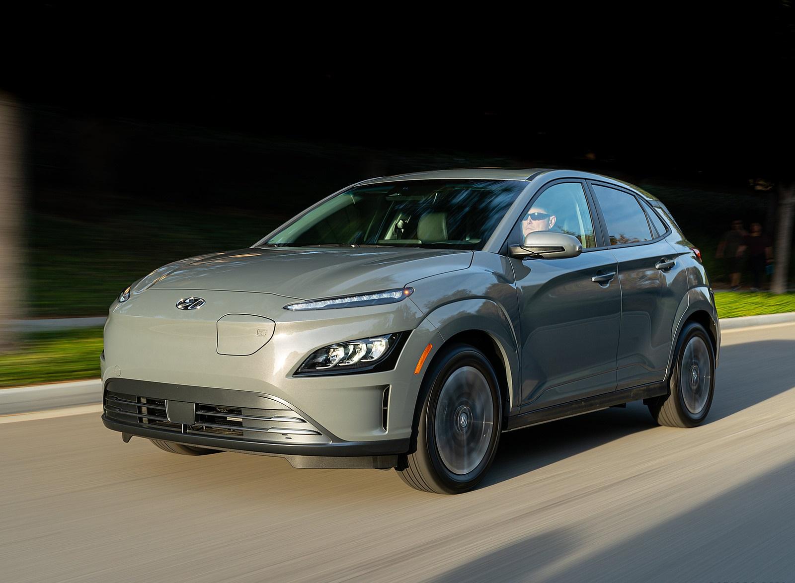 2022 Hyundai Kona Electric Front Three-Quarter Wallpapers (4)