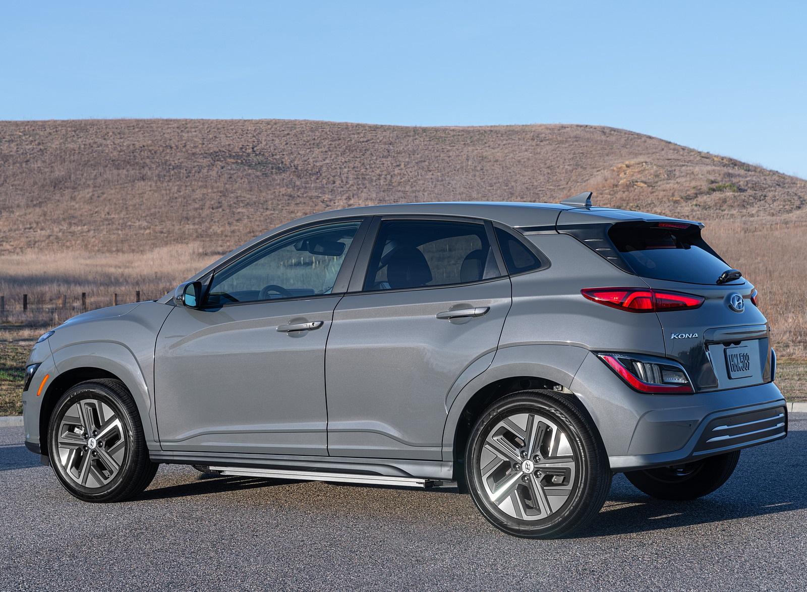 2022 Hyundai Kona Electric Rear Three-Quarter Wallpapers  (6)