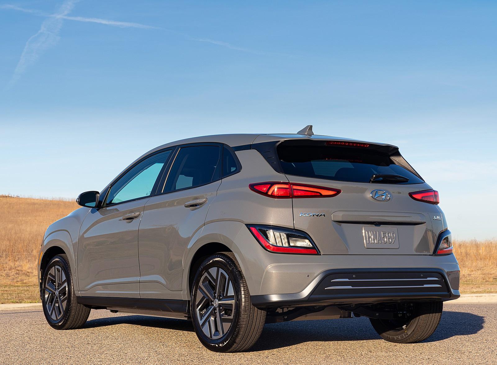 2022 Hyundai Kona Electric Rear Three-Quarter Wallpapers (7)