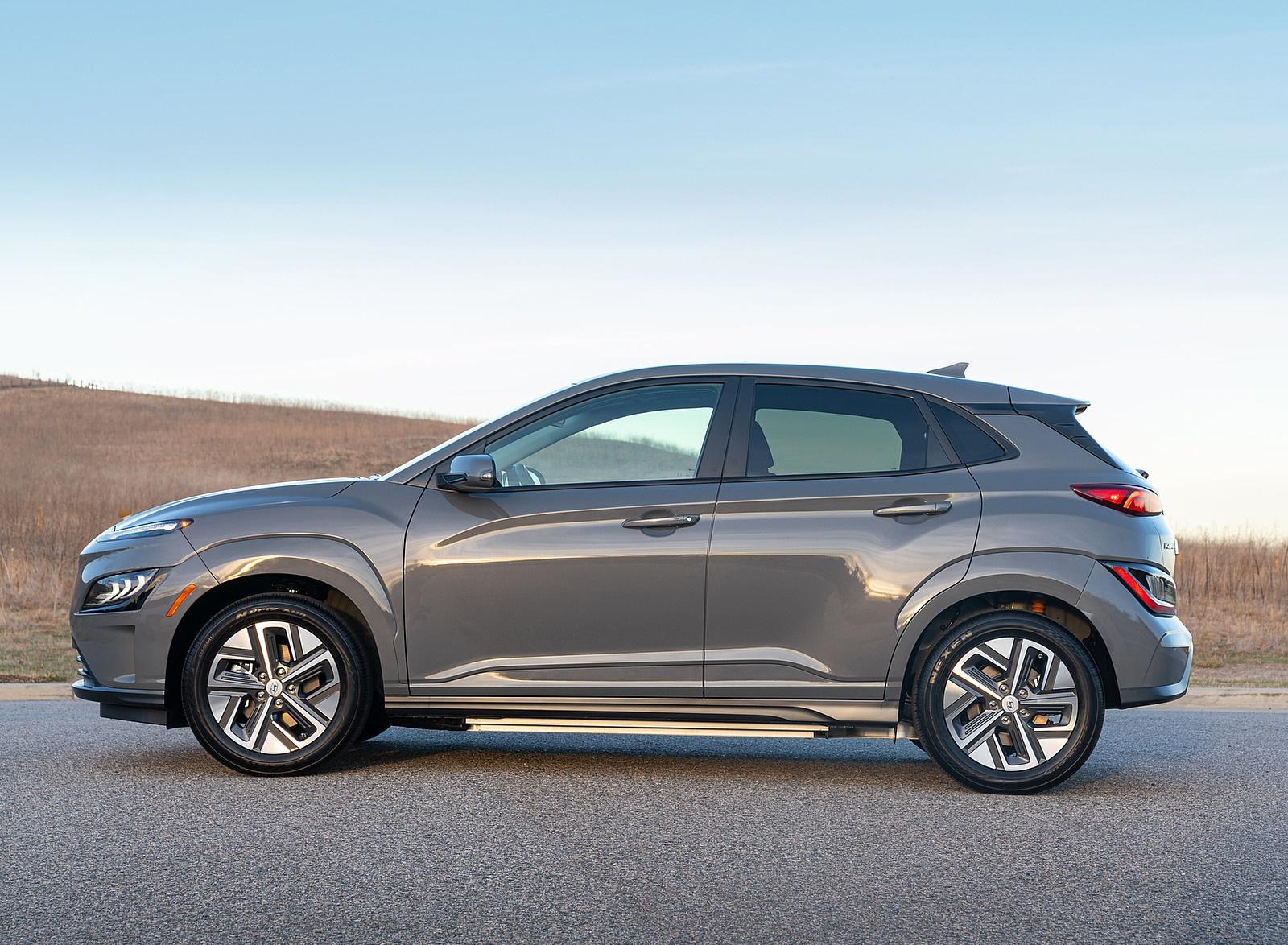 2022 Hyundai Kona Electric Side Wallpapers (8)