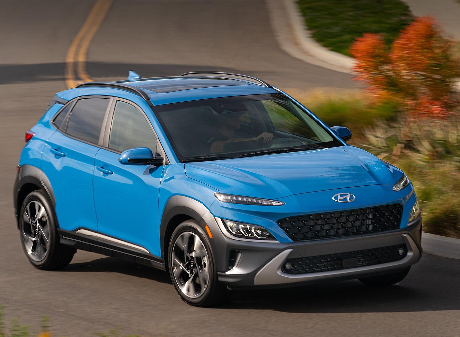 2022 Hyundai Kona Limited Front Three-Quarter Wallpapers  (4)