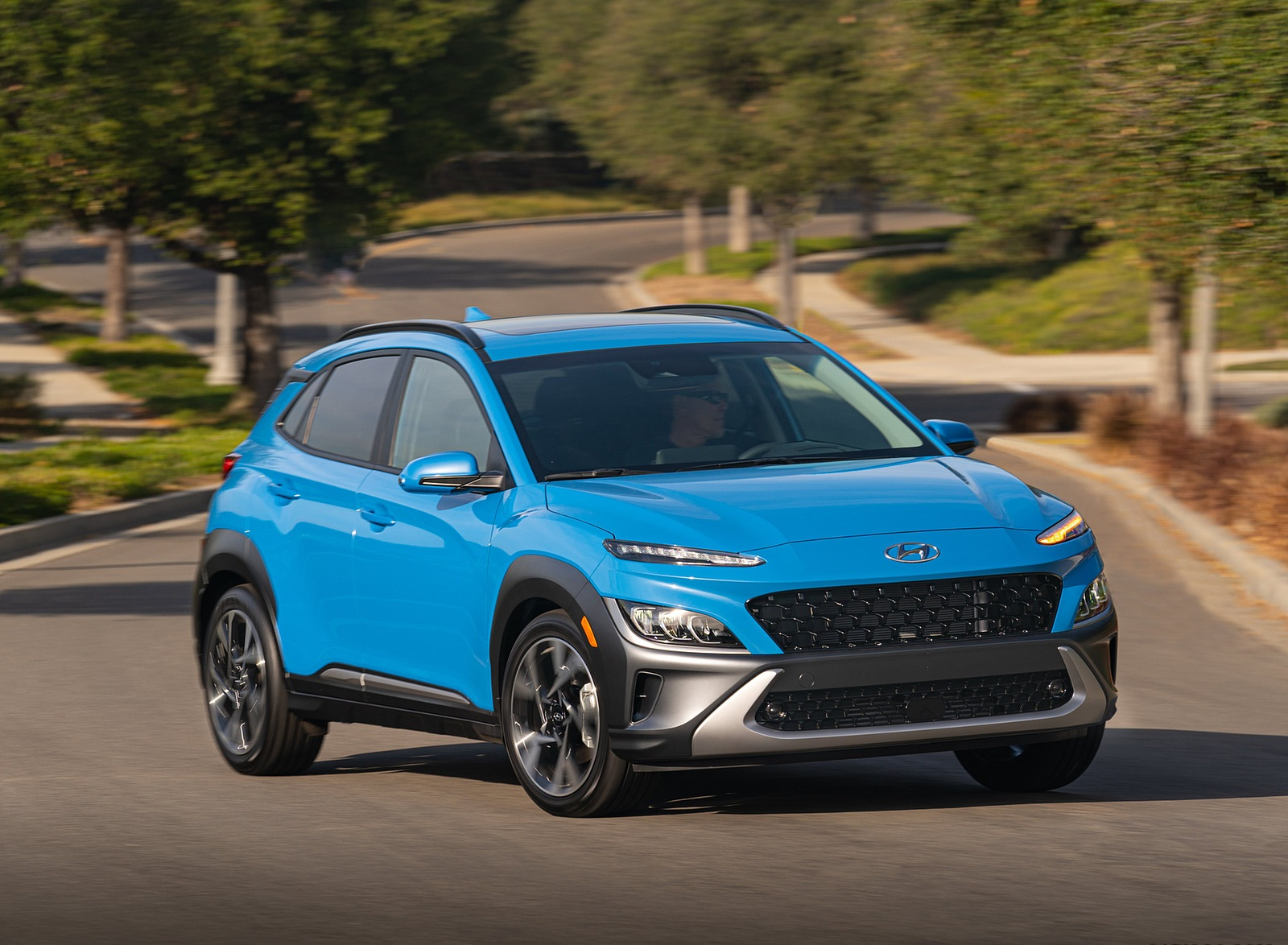 2022 Hyundai Kona Limited Front Three-Quarter Wallpapers  (5)