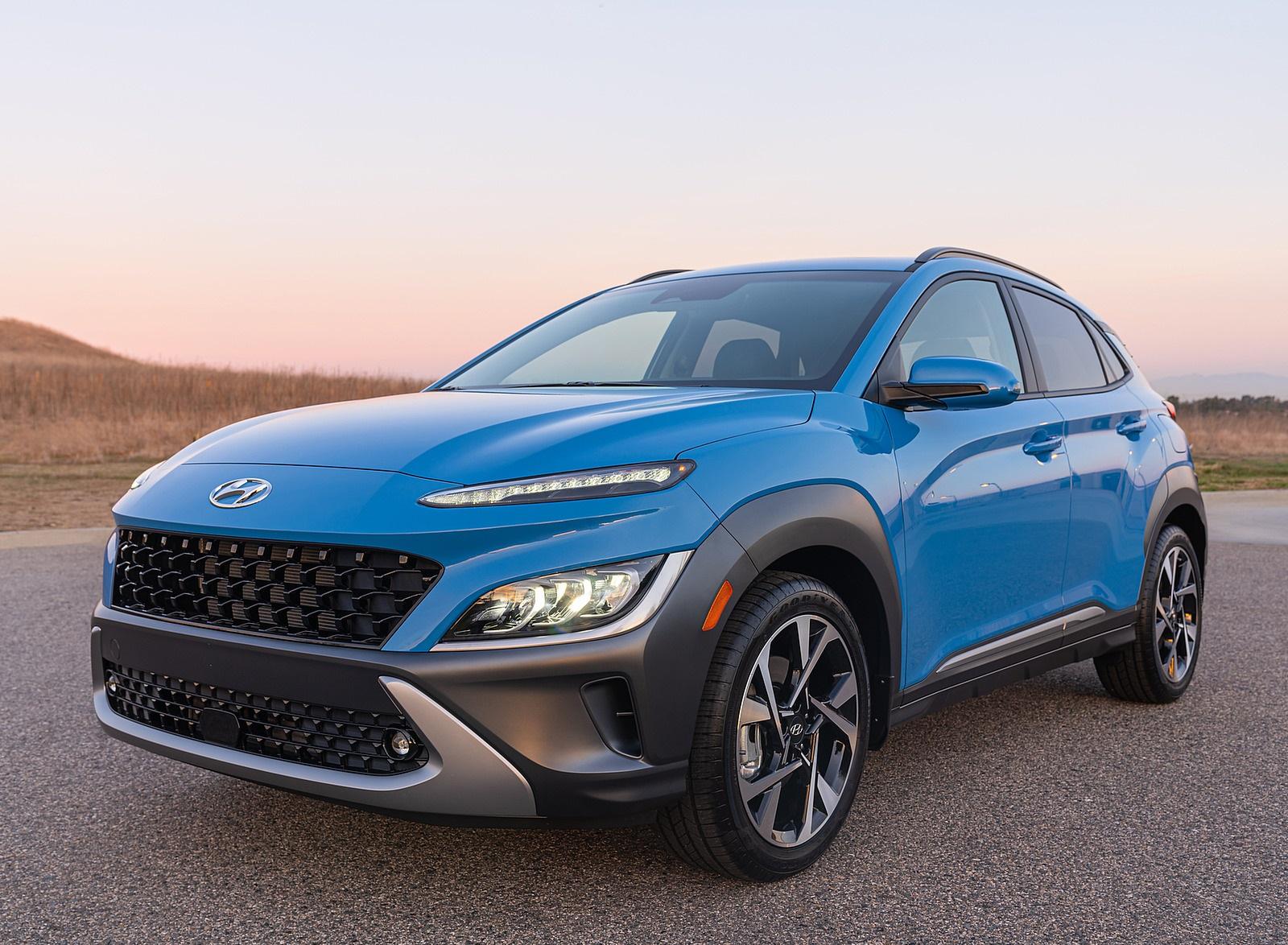 2022 Hyundai Kona Limited Front Three-Quarter Wallpapers (8)
