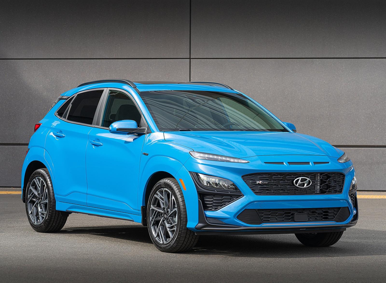 2022 Hyundai Kona N Line Front Three-Quarter Wallpapers (1)