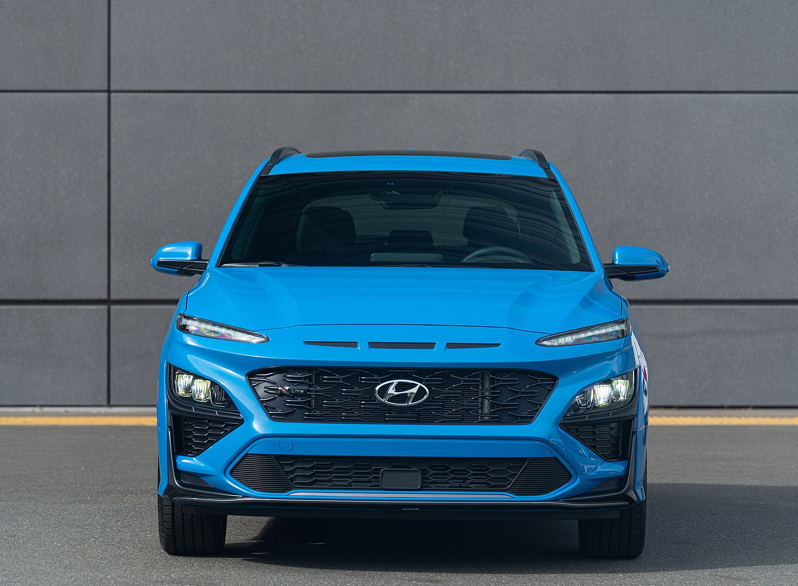 2022 Hyundai Kona N Line Front Wallpapers (3)