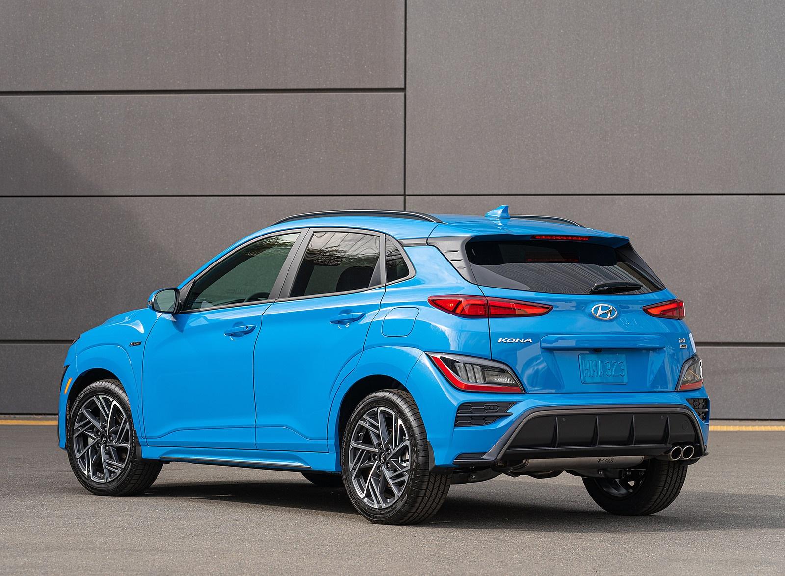 2022 Hyundai Kona N Line Rear Three-Quarter Wallpapers (4)