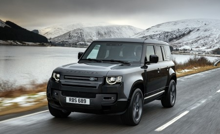 2022 Land Rover Defender V8 110 Wallpapers HD