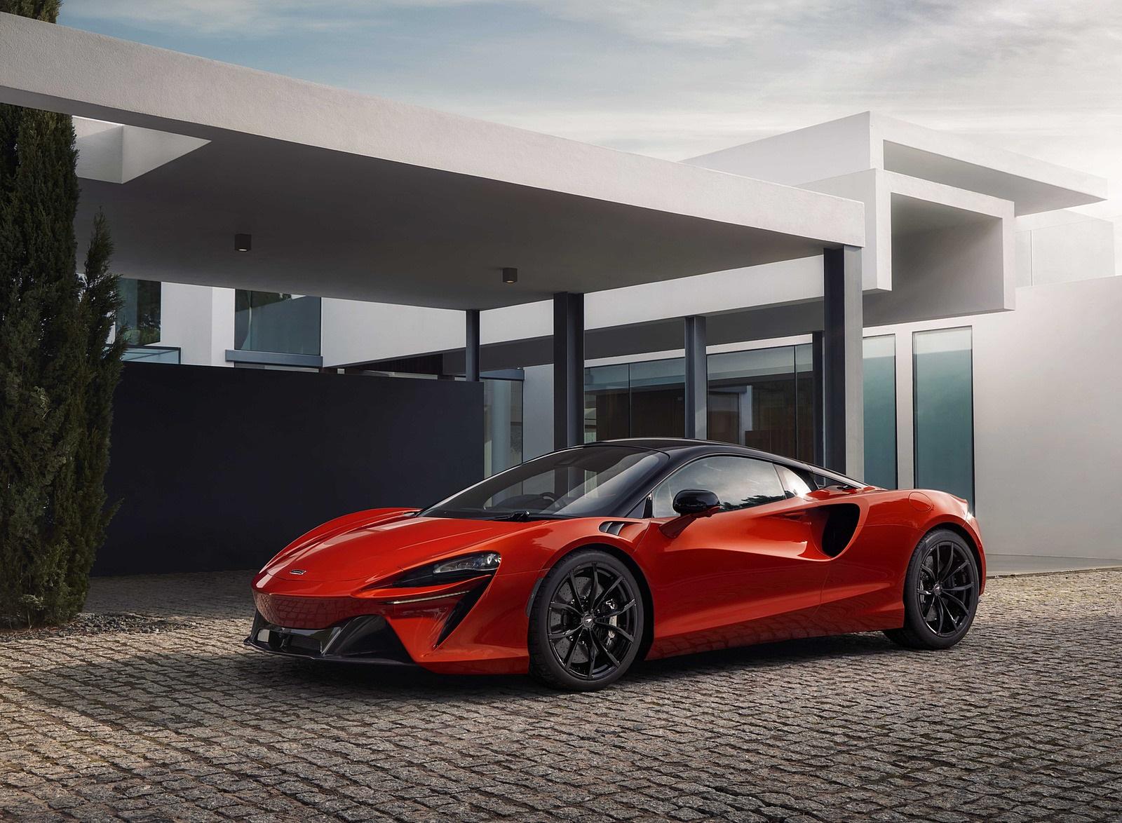 2022 McLaren Artura Front Three-Quarter Wallpapers (9)