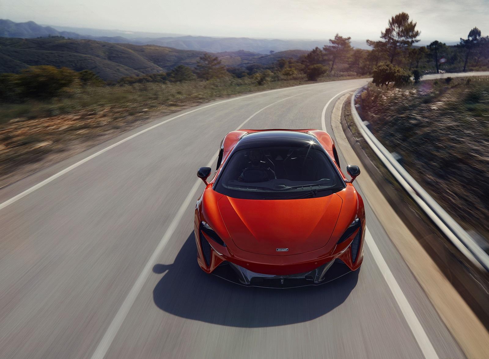 2022 McLaren Artura Front Wallpapers (2)