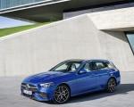 2022 Mercedes-Benz C-Class Wagon T-Model (Color: Spectral Blue) Front Three-Quarter Wallpapers 150x120 (23)