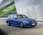2022 Mercedes-Benz C-Class Wagon T-Model (Color: Spectral Blue) Front Three-Quarter Wallpapers 150x120 (12)