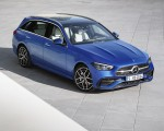 2022 Mercedes-Benz C-Class Wagon T-Model (Color: Spectral Blue) Front Three-Quarter Wallpapers 150x120 (24)