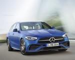 2022 Mercedes-Benz C-Class Wagon T-Model (Color: Spectral Blue) Front Three-Quarter Wallpapers 150x120 (14)