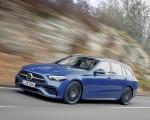 2022 Mercedes-Benz C-Class Wagon T-Model (Color: Spectral Blue) Front Three-Quarter Wallpapers 150x120 (1)