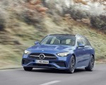2022 Mercedes-Benz C-Class Wagon T-Model (Color: Spectral Blue) Front Wallpapers 150x120 (8)