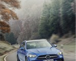 2022 Mercedes-Benz C-Class Wagon T-Model (Color: Spectral Blue) Front Wallpapers 150x120 (4)