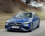 2022 Mercedes-Benz C-Class Wagon T-Model (Color: Spectral Blue) Front Wallpapers 150x120 (5)