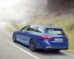 2022 Mercedes-Benz C-Class Wagon T-Model (Color: Spectral Blue) Rear Three-Quarter Wallpapers 150x120 (6)