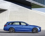 2022 Mercedes-Benz C-Class Wagon T-Model (Color: Spectral Blue) Side Wallpapers 150x120 (28)