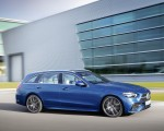 2022 Mercedes-Benz C-Class Wagon T-Model (Color: Spectral Blue) Side Wallpapers  150x120 (17)