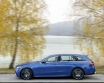 2022 Mercedes-Benz C-Class Wagon T-Model (Color: Spectral Blue) Side Wallpapers 150x120 (10)