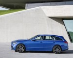 2022 Mercedes-Benz C-Class Wagon T-Model (Color: Spectral Blue) Side Wallpapers 150x120 (29)