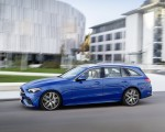 2022 Mercedes-Benz C-Class Wagon T-Model (Color: Spectral Blue) Side Wallpapers 150x120 (18)