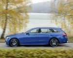 2022 Mercedes-Benz C-Class Wagon T-Model (Color: Spectral Blue) Side Wallpapers 150x120 (11)