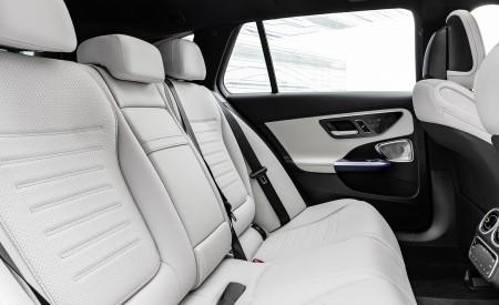 2022 Mercedes-Benz C-Class Wagon T-Model Interior Rear Seats Wallpapers 450x275 (38)