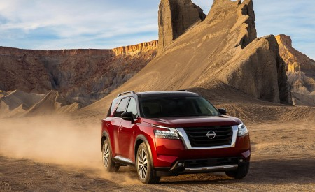 2022 Nissan Pathfinder Wallpapers HD
