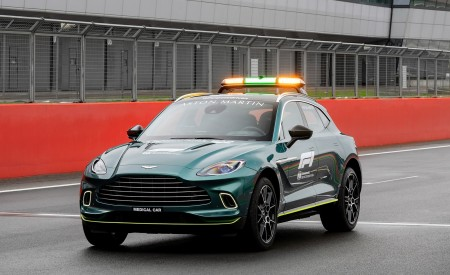 2021 Aston Martin DBX Formula 1 Medical Car Wallpapers HD