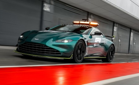 2021 Aston Martin Vantage Formula 1 Safety Car Wallpapers HD