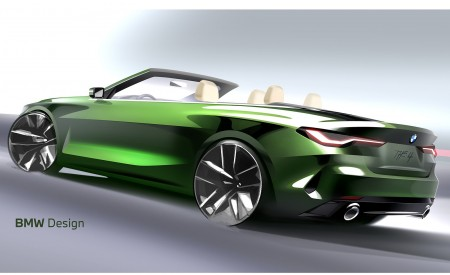 2021 BMW 4 Series Convertible Design Sketch Wallpapers  450x275 (160)