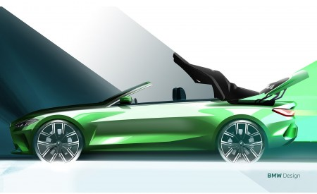 2021 BMW 4 Series Convertible Design Sketch Wallpapers  450x275 (159)